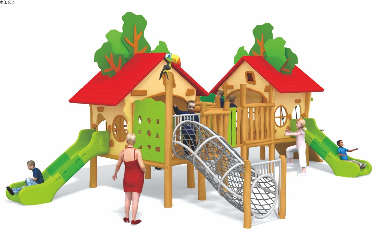 新款木质游乐设备